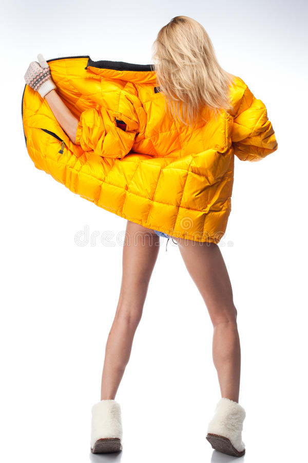 Winter Outfit Royalty Free Stock Image