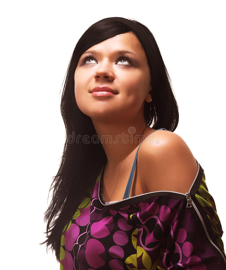 Download Woman stock photo. Image of future, faces, babe, casual - 2324790