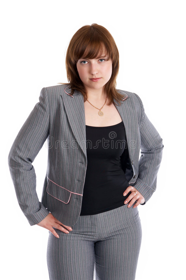 Download Woman in a business suit stock photo. Image of fresh, belt - 5952598
