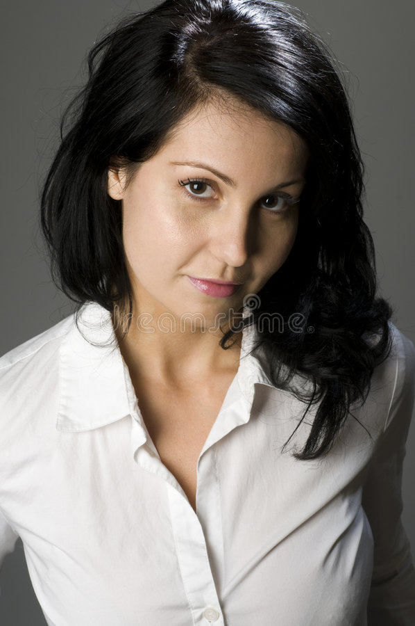 Download Woman portrait head shot stock image. Image of person - 8730479