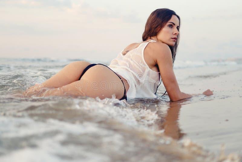 Woman posing hot