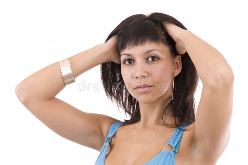 Download Woman posing stock image. Image of girl, caucasian, fashion - 17056859