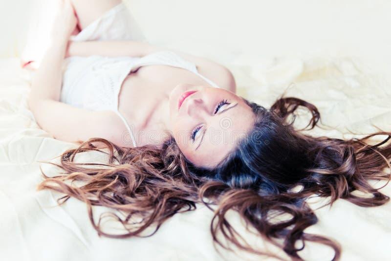 Woman Sleep Stock Photos