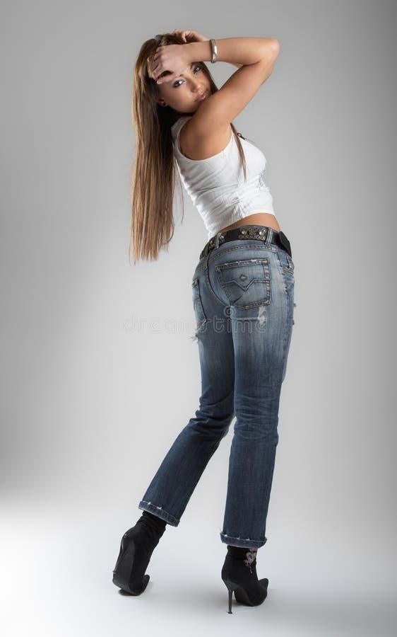 Sexy Woman In Studio Free Stock Photos