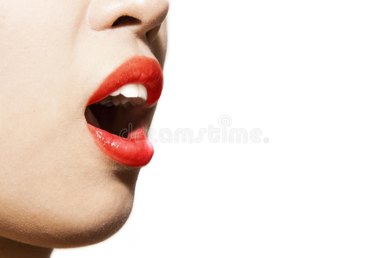 Download Womans Mouth Stock Photos - Image: 24815243