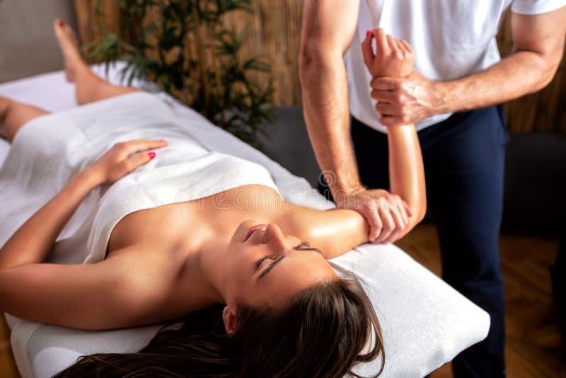 Massage Rooms Sexy Brunette