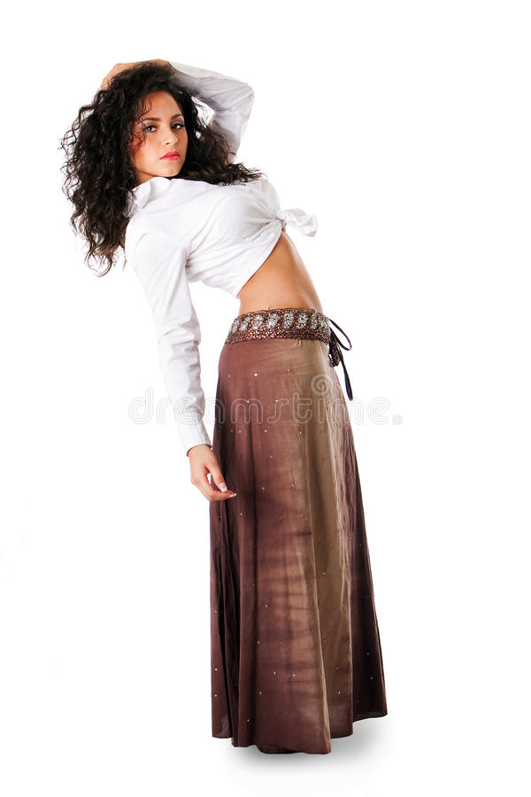 Download Young Latina woman stock photo. Image of brown, young - 14076188