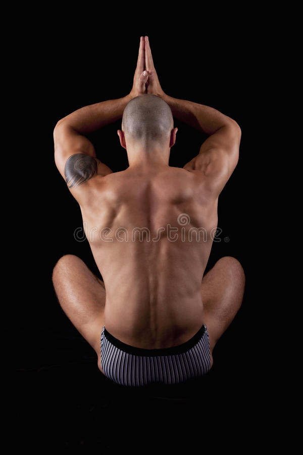 Download Young muscle man's back stock photo. Image of built, body - 15209370