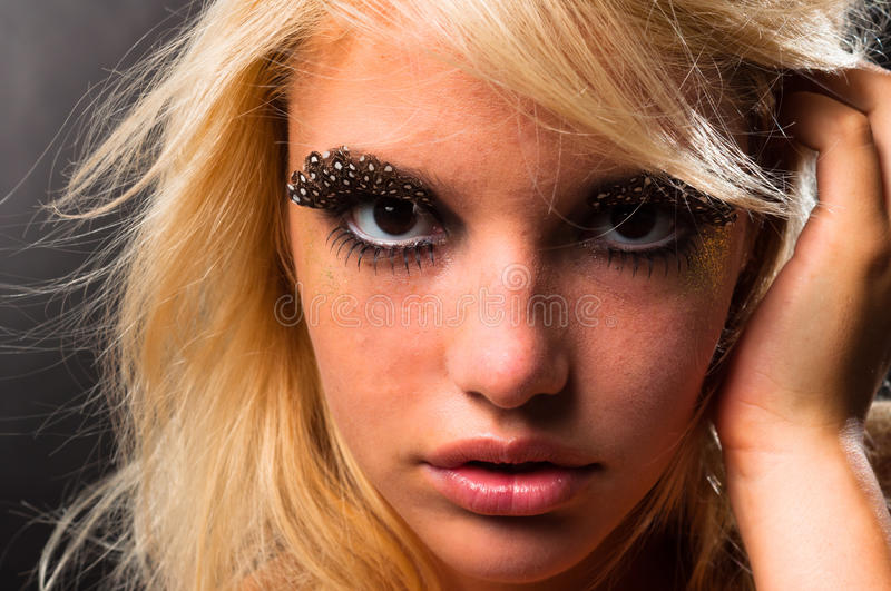 Download Young woman stock photo. Image of model, cosmetics, perfection - 22557910