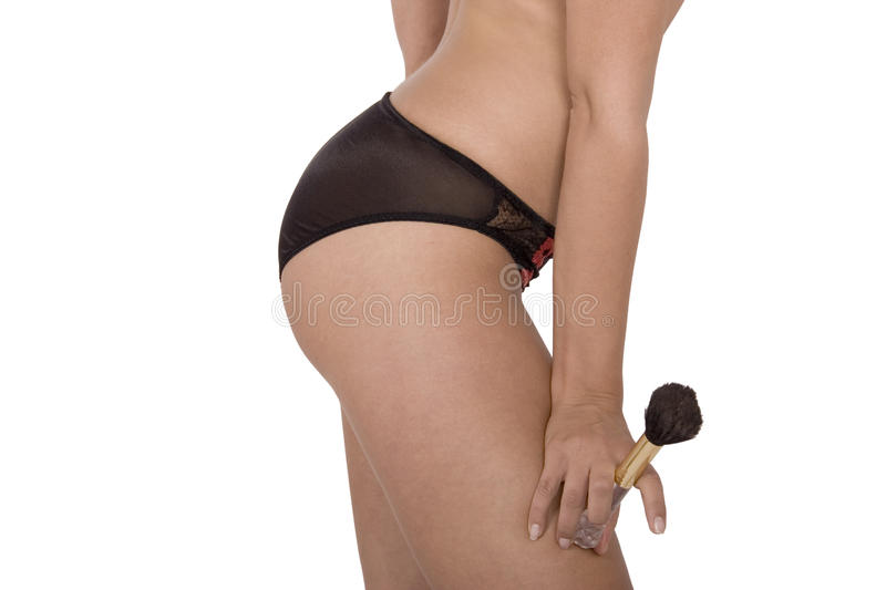 Download Young Woman In Black Panties Stock Photo - Image: 15303306