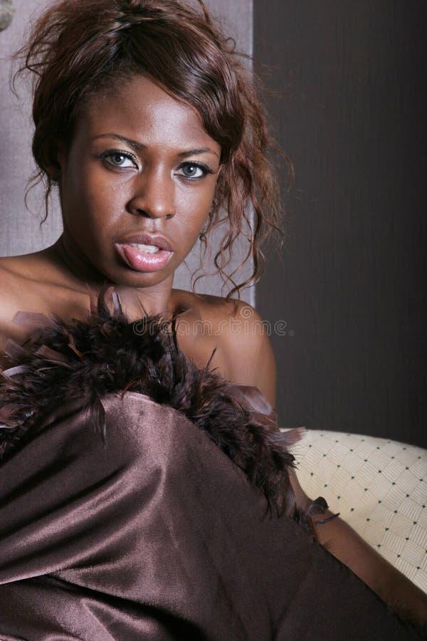 Sexy zwarte royalty-vrije stock foto's