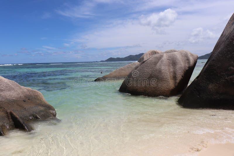 seychellen stock foto's