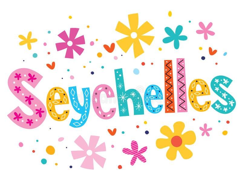 seychellen vector illustratie