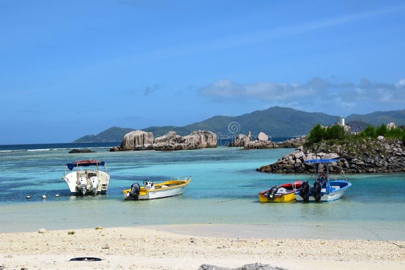 Seychellen-` s Strand stockfoto
