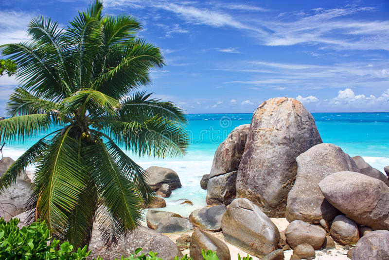 Seychelles fotografia de stock