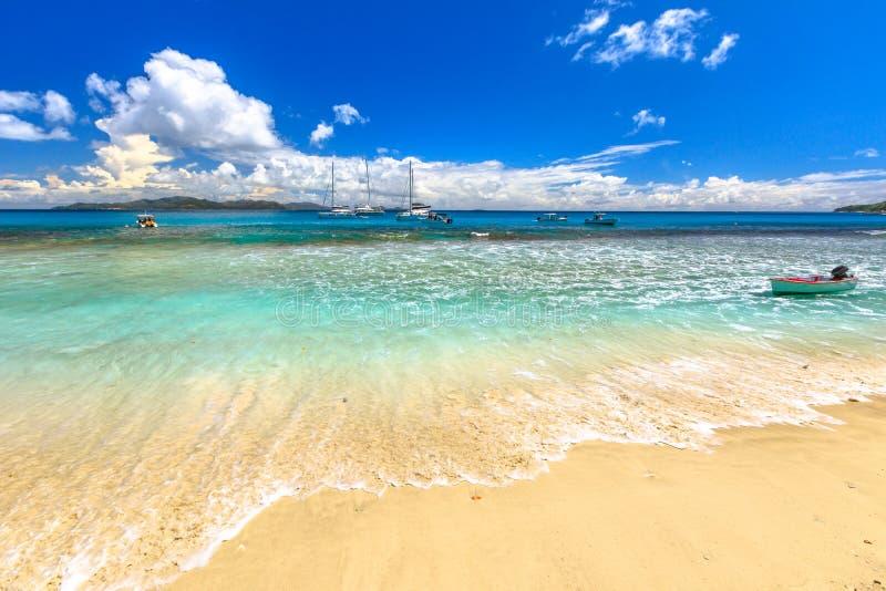 Seychelles Felicite wyspa fotografia stock