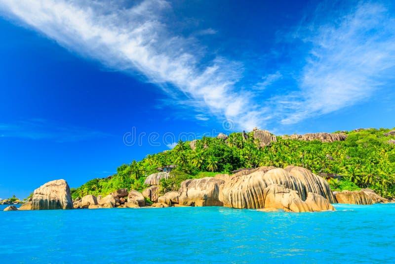 Seychelles Felicite wyspa zdjęcie royalty free