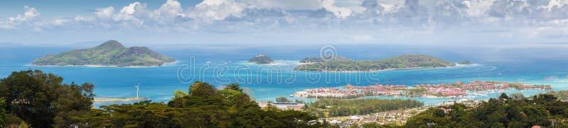 Seychelles, Mahe wyspa obrazy stock