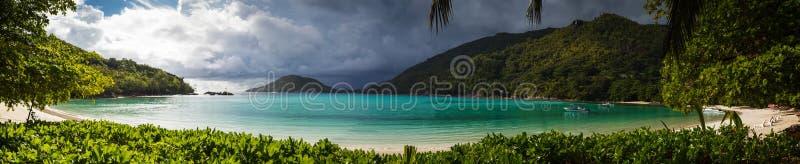 Seychelles, Mahe wyspa obraz stock