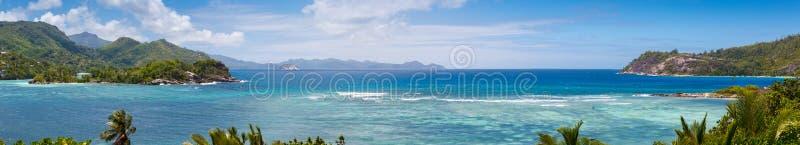 Seychelles, Mahe wyspa obraz royalty free
