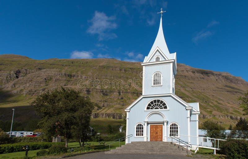 SEYDISFJORDUR, ICELAND stock photo