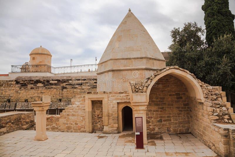 Seyid Yahya Bakuvi的陵墓 库存照片