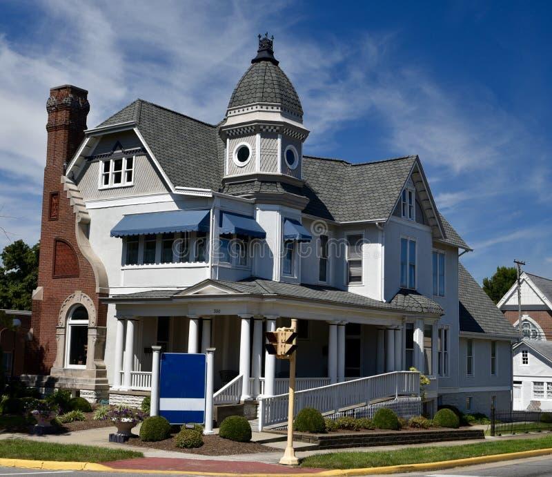 Seymour wiktoriański dom zdjęcie royalty free
