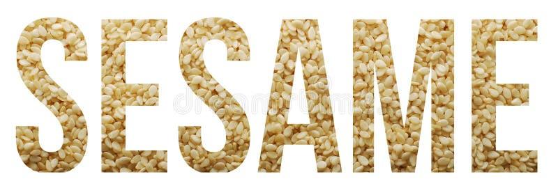 Sezamowy ziarno zdjęcie stock