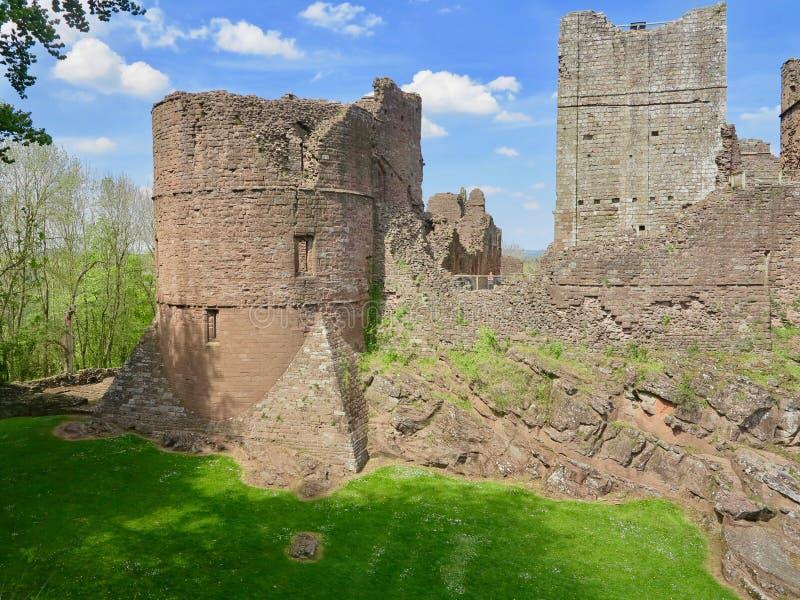 Sezione del castello fotografia stock