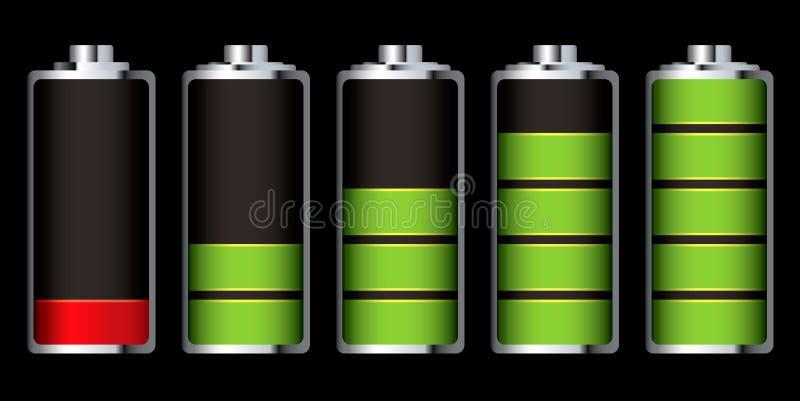 Sezione della carica della batteria royalty illustrazione gratis