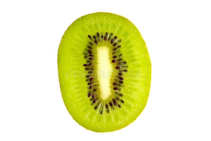 Sezione trasversale di kiwi fresco fotografia stock libera da diritti