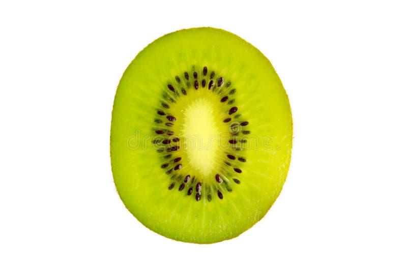 Sezione trasversale di kiwi fresco immagini stock