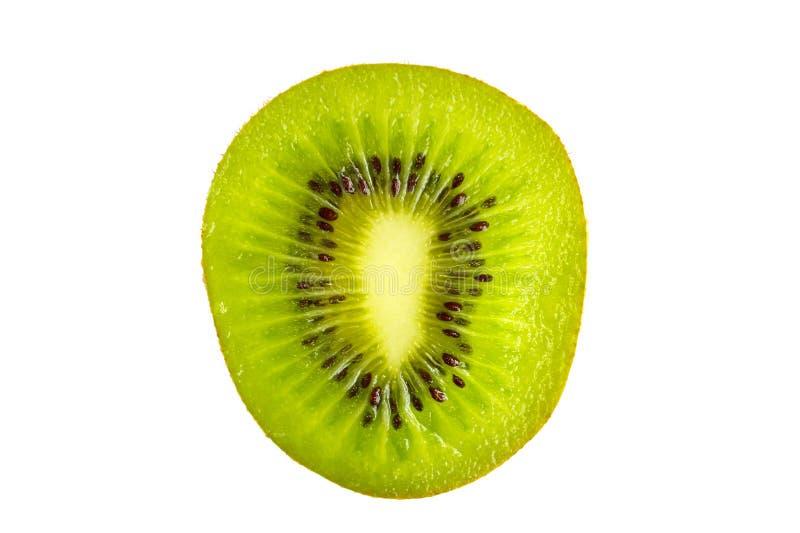 Sezione trasversale di kiwi fresco fotografie stock libere da diritti