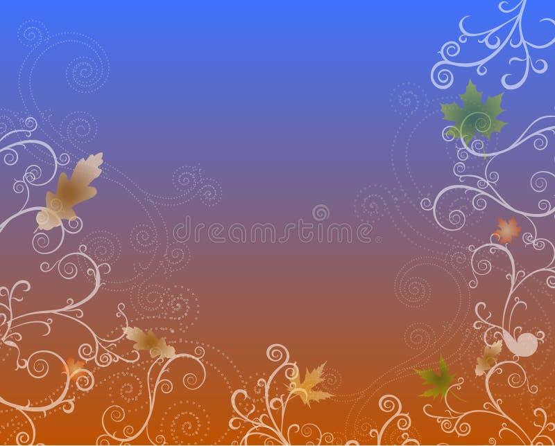 sezon jesienny serii ilustracji