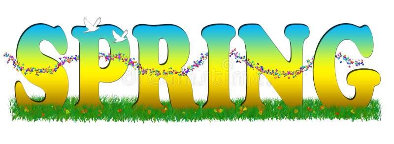 sezon wiosenny ilustracji