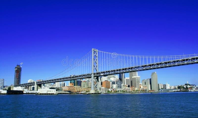 sf моста залива городское стоковое изображение rf