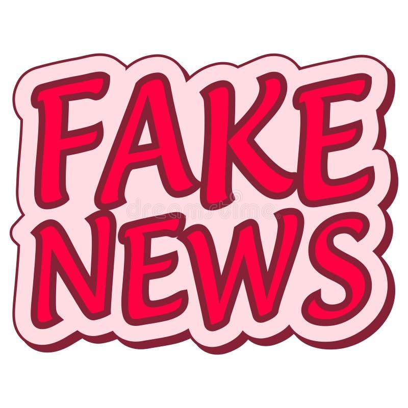 Sfałszowanego wiadomość majcheru mowy retro balon, sfałszowana wiadomości etykietka, wystrzał sztuka ilustracja wektor