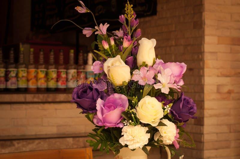 Sfałszowani kwiaty zdjęcie royalty free