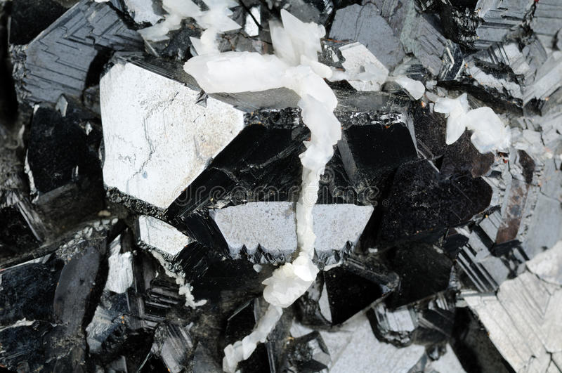 Sfaleryte mineral background royalty free stock photo