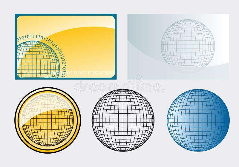 sfera ilustracja wektor