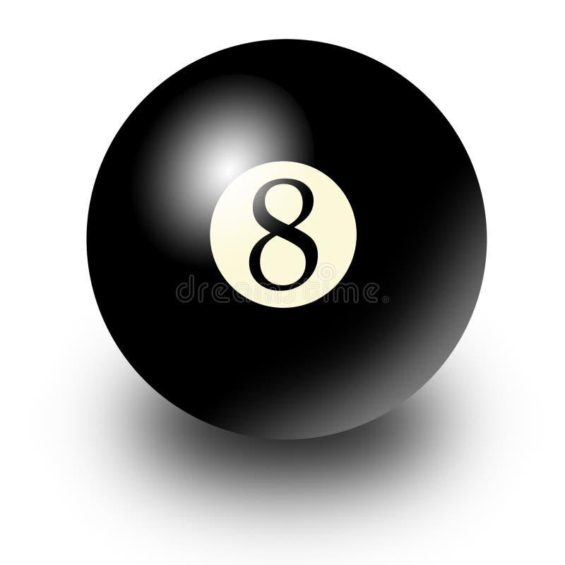 sfera 8 illustrazione di stock