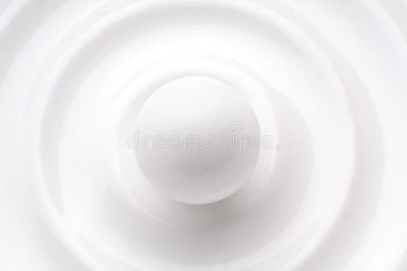 Sfera bianca fotografia stock libera da diritti
