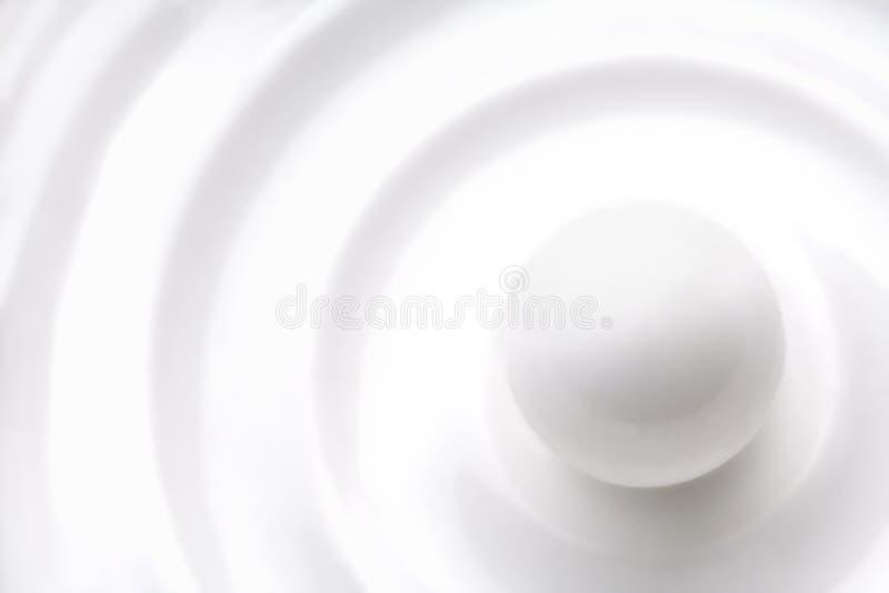 Sfera bianca immagini stock