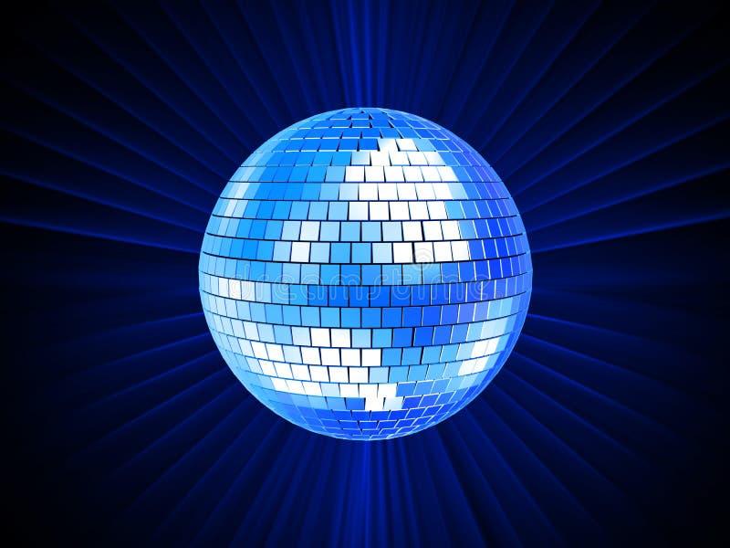 sfera della discoteca 3d royalty illustrazione gratis