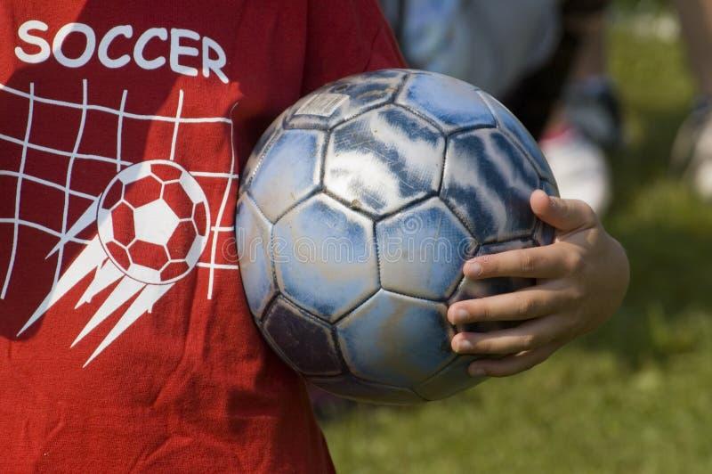 Sfera di calcio fotografie stock