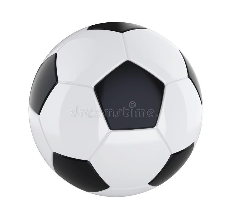 Sfera di calcio isolata illustrazione vettoriale