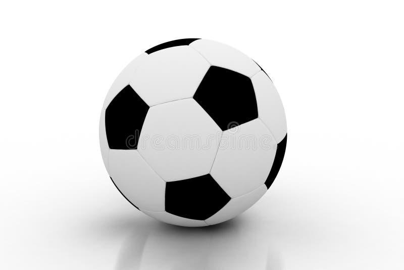 Sfera di calcio isolata royalty illustrazione gratis