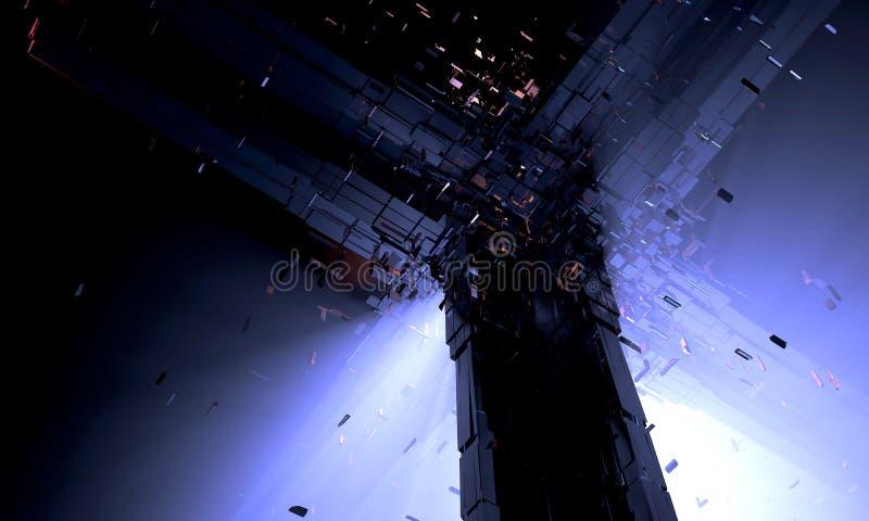 Sfera di Dyson del primo piano immagini stock