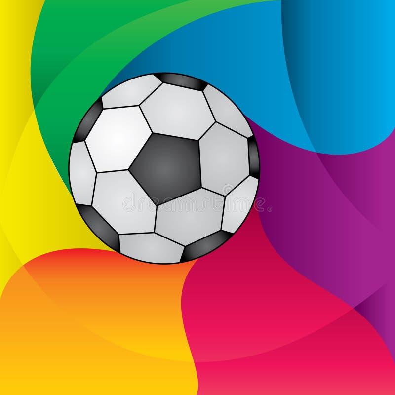 Sfera di gioco del calcio illustrazione di stock