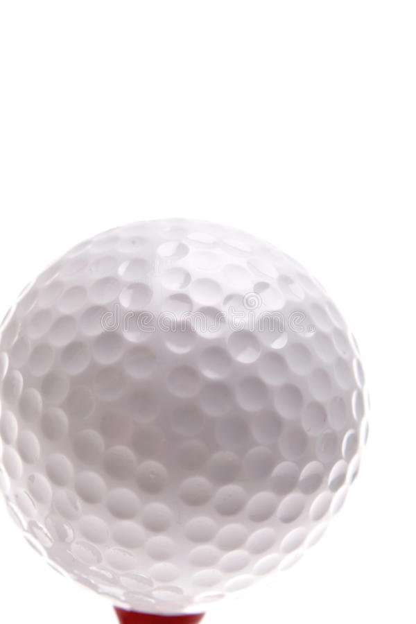 Sfera di golf fotografie stock